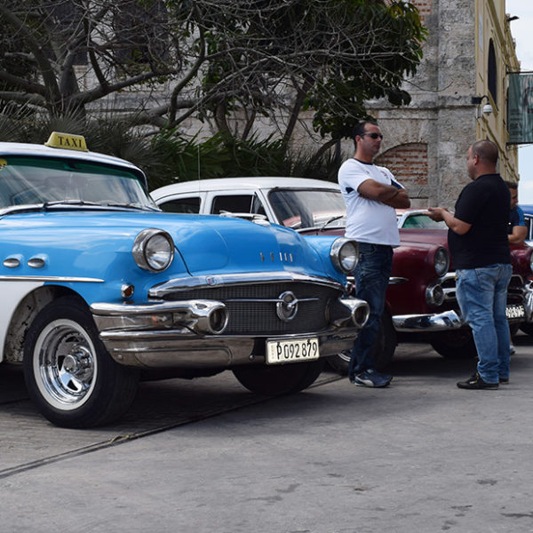 classic cars are a mainstay on the Cuba streets.