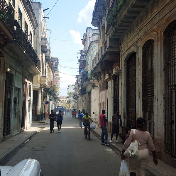 The gritty Cuban Streets