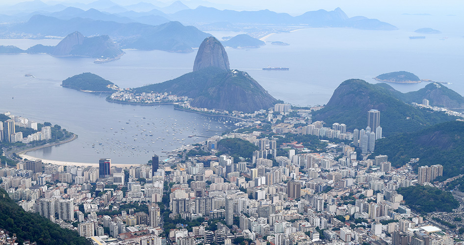 Amazing view from Corcovado